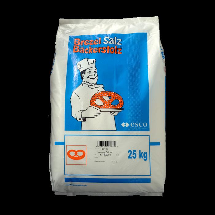 Bäckerstolz - Siede-Speisesalz 1,25-3,15 mm im 25 kg Sack