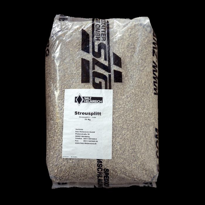 Splitt - Moränesplitt 2-5 mm im 25 kg Sack