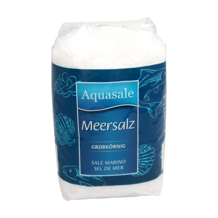 Aquasale® grobes Meersalz im 1 kg Beutel
