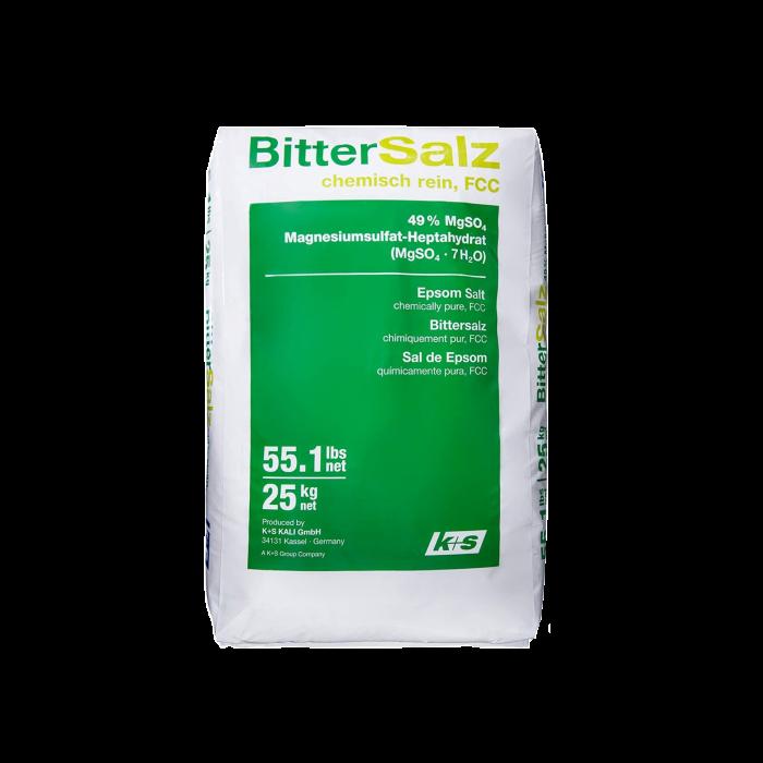 Bittersalz - Magnesiumsulfat FCC - Food Grade - Epsom Salz MgSO4