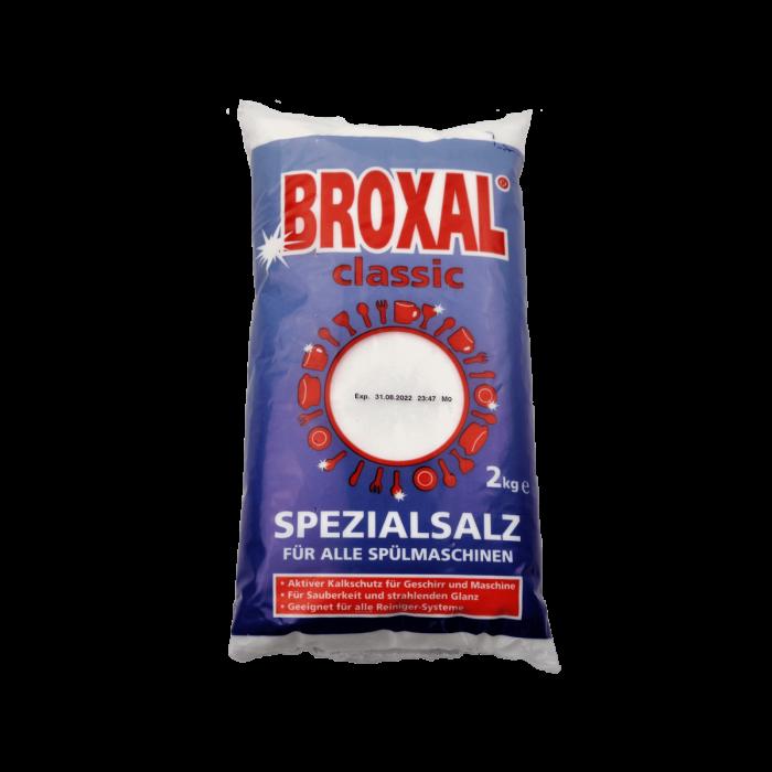Broxal Classic Spülmaschinensalz Fein, 6 x 2 kg