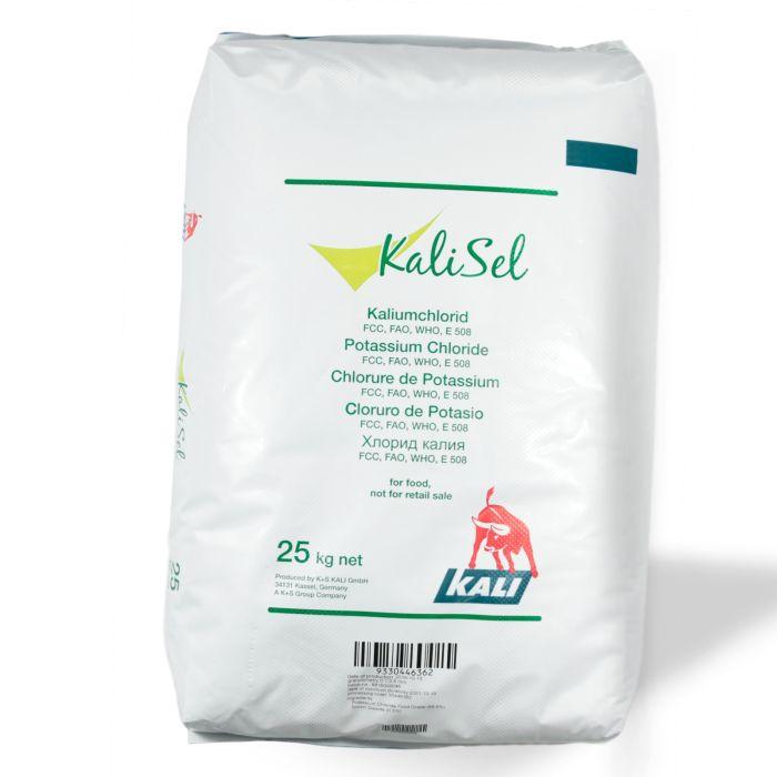 Kaliumchlorid Lebensmittel KCl ca. 99,5 % im 25 kg Sack