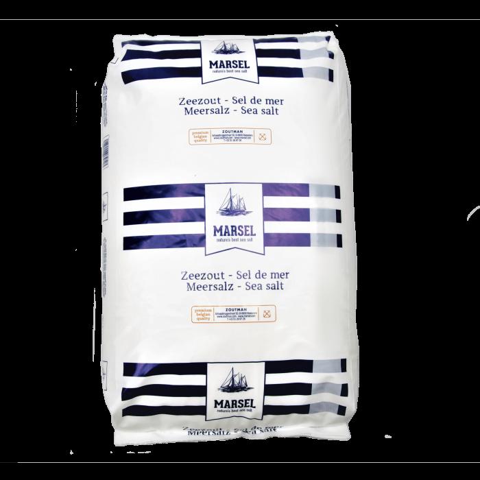 MARSEL Meersalz fein 0,8-1,2 mm ohne Trennmittel im 25 kg Sack