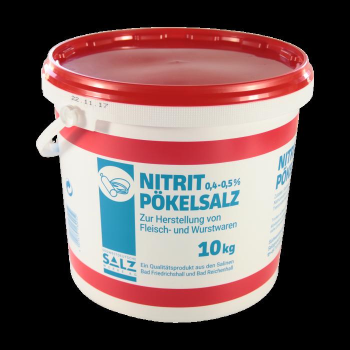 Siede-Nitrit-Pökelsalz mit 0,4-0,5% Nitrit im 10 kg Eimer