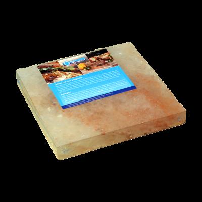 Salzstein BBQ Salzplatte zum Grillen, mehrfach verwendbar