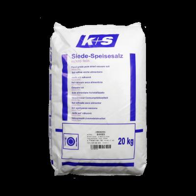 Siede-Speisesalz microfine 0-0,15 mm im 20 kg  Sack