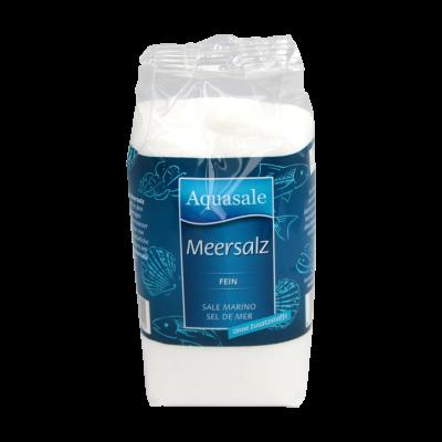 Aquasale® feines Meersalz im 500 Gramm Beutel