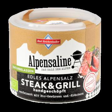 Alpensaline Edles Alpensalz Bio Steak & Grill 90 g Dose