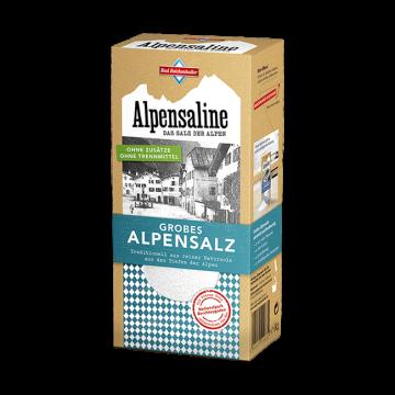 Alpensaline - Das Salz der Alpen - Grobes Alpensalz 1 kg Paket
