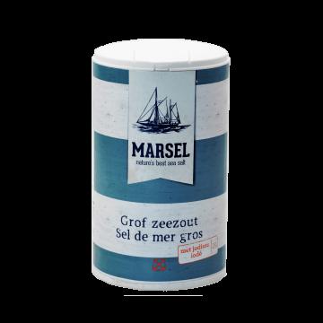 MARSEL® - Grobes Meersalz jodiert
