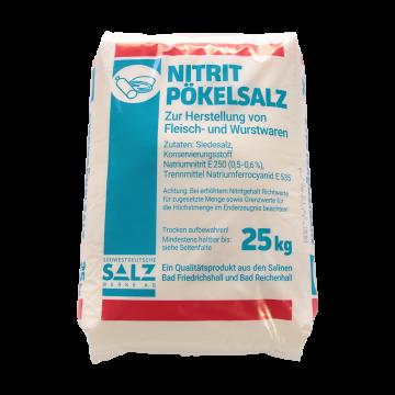 Siede-Nitritpökelsalz mit 0,5-0,6 % Nitrit im 25 kg Sack