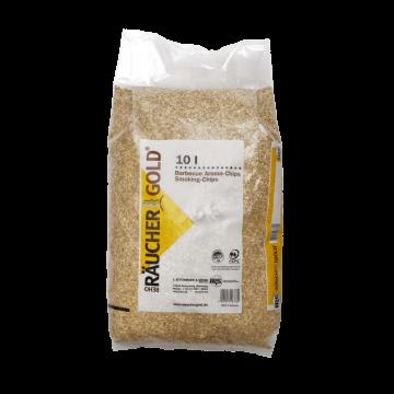 RÄUCHERGOLD® HB 500-1000 Buchenholzspäne im 10 Liter Sack