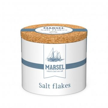 MARSEL® - Salzflocken - Salt Flakes im Keramiktopf